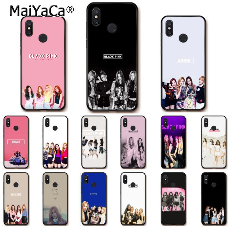 Half-wrapped Case Phone Bags & Cases Maiyaca Black Pink Blackpink K-pop Kpop Painted Phone Case For Xiaomi Redmi 5 5plus Note4 4x Note5 6a Mi 6 Mix2 Mix2s