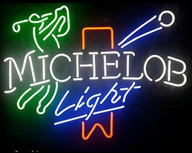 Custom Michelob Play light Neon Light Sign Beer Bar
