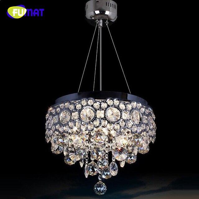 FUMAT LED Crystal Chandeliers Lighting K9 Crystal Lamps Dinging Room Lights Lustre Lumniare Restaurant Living Room LED Chandlier