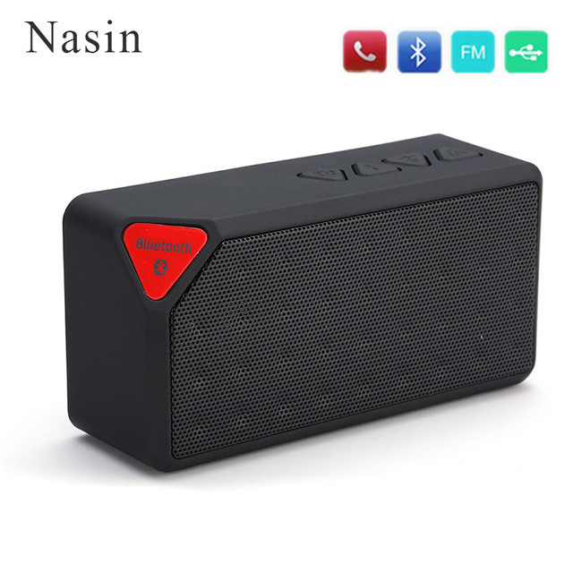 X3 Bluetooth Speaker Fashion Style TF USB Wireless Portable Music Sound Box Subwoofer Loudspeakers For Huawei Xiaomi