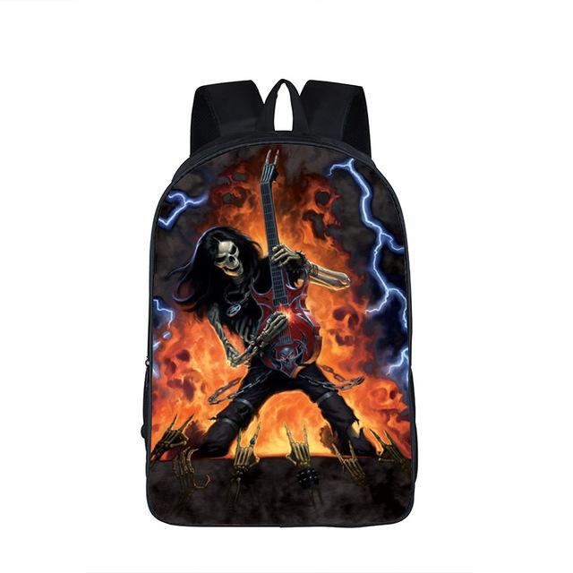 Street Rock Skull Backpack