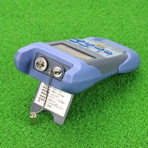 Image 5 - KELUSHI medidor de potencia óptica de fibra FTTH todo en uno 70 A + 10dBm y 1mw 5km probador de Cable de fibra óptica Localizador Visual de fallos