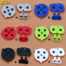 JCD 1Set boutons conducteurs en caoutchouc coloré A-B d-pad pour nessa GameBoy Advance GBA Silicone conducteur démarrage sélectionner clavier(China)