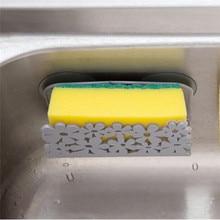 Suction Cup Kitchen Dish Cloths Rack Hanger Wall mounted washing Sponge Soap Holder Clip Shelf Bathroom storage Hook racks sale