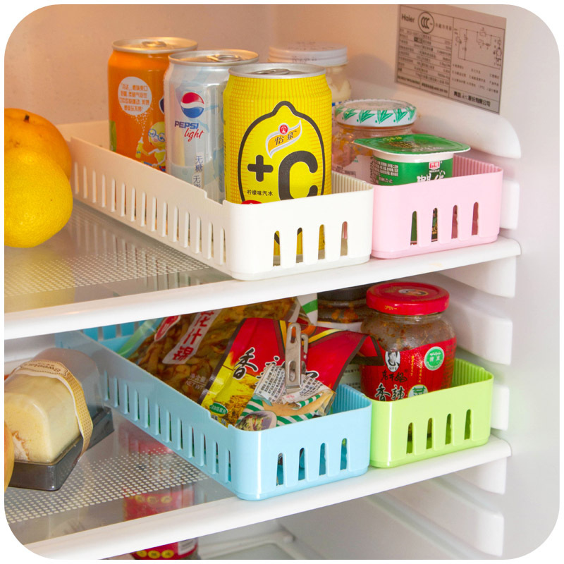 Creative snaps refrigerator separate kitchen and more storage box drawer sorting box K3938