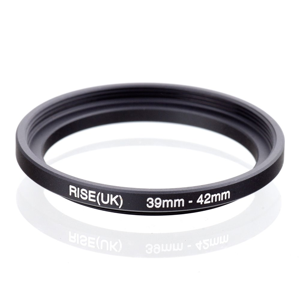original RISE(UK) 39mm-42mm 39-42mm 39 to 42 Step Up Ring Filter Adapter black free shipping