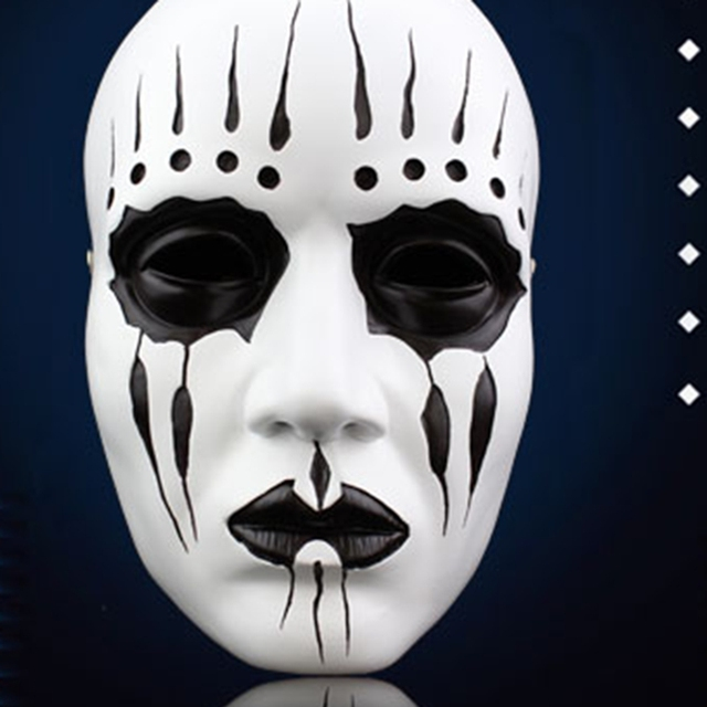 Slipknot Drummer Joey Jordison Same Mask Halloween Scary Resin Full Face Masks Masquerade Costume Party Stage  sc 1 st  AliExpress.com : costume face mask  - Germanpascual.Com
