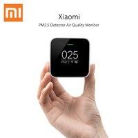 Original Xiaomi Mijia PM2.5 Detector Xiaomi Air Quality Tester Monitor OLED Smart Sensor Control APP Adapt Mi Air Purifier
