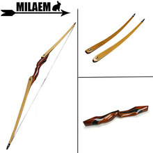 цена на 1pc 62inch Archery Recurve Bow 25-55lbs Longbow Hunting Bow Lamination Bow Limbs Training Outdoor Sports Shooting Accessories