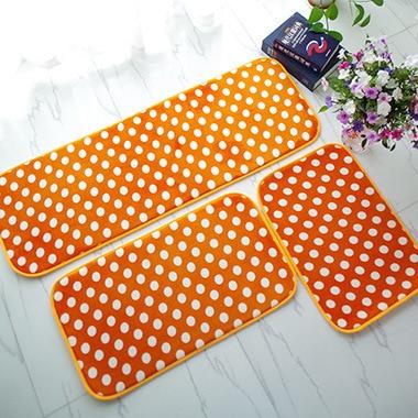 Long Carpet Kitchen Mat For Floor Simple Dot Stripe Water Absorb Bedside Bedroom Runner  ...