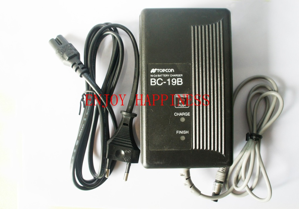 Фотография For Sale  BC-19B charger for topcon BT-32Q battery U.S. standard outlet charger
