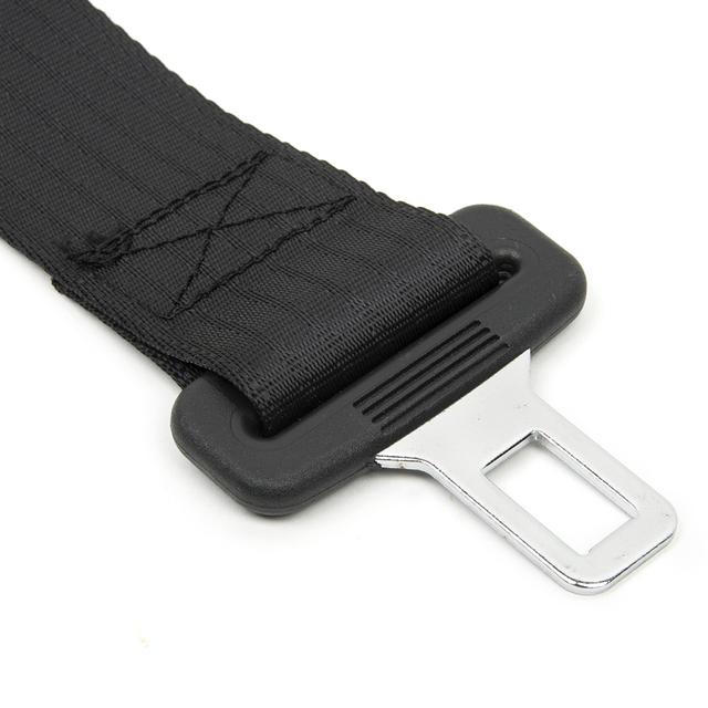 KWOKKER 14″ Longer 36cm 14″ Universal Car Auto Seat Seatbelt Safety Belt Extender Extension Buckle Seat Belts & Padding Extender