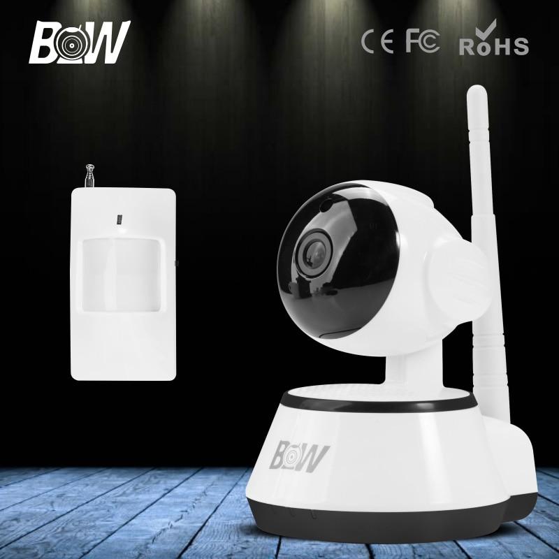 ФОТО Brand BW Mini IP Camera Wifi Wireless HD 720P CCTV Home Video P2P Baby Monitor Security Surveillance Cam Infrared Motion Sensor