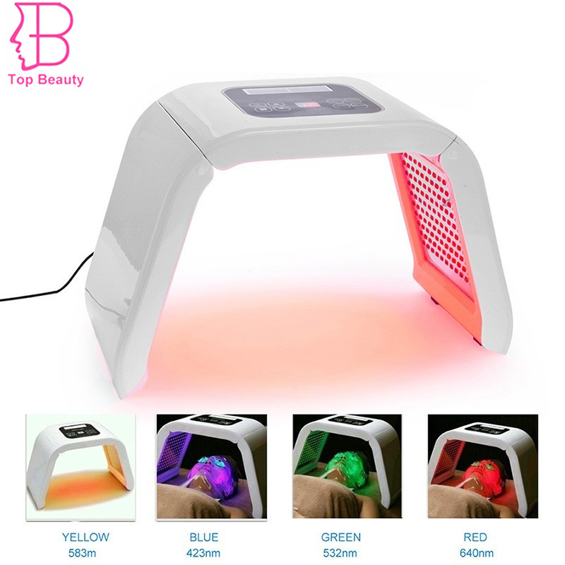 PDT LED Light Therapy Instrument Skin Rejuvenation Wrinkle Removal Acne Scars Treatment Facial Face Skin Care Beauty Device Set 7 colors light photon electric led facial mask skin pdt skin rejuvenation anti acne wrinkle removal therapy beauty salon