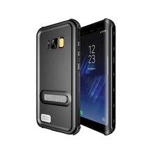 Maimoke Мода для Samsung S8 случае Водонепроницаемый 360 полная защита для Samsung Galaxy S8 Plus защитить всю грязь Телефонные чехлы