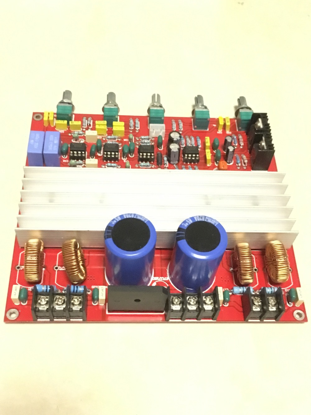 Free Shipping Tda8950 21 Digital Amplifier Board With Protection 2 170w Class D Schematic Diagram 2170w 250w High Power Bass Sound In From Consumer