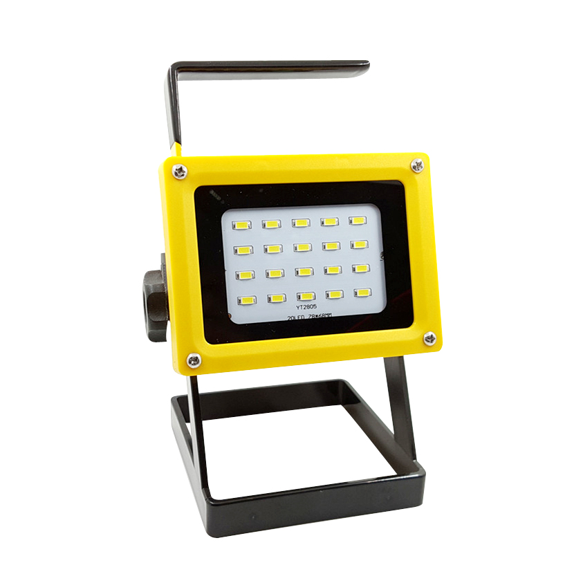 portable 10w led flood light No 18650 battery rechargeable led floodlight reflector lamp outdoor waterproof ip65 lighting revlon revlon re038lwjbn42