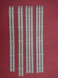 Image 1 - Новый комплект из 10 сменных светодиодных лент для подсветки для LG 42LA620V 6916L 1412A 6916L 1413A 6916L 1414A 1415A 1214A 1215A 1216A 1217A