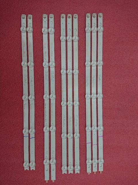 Новый комплект из 10 сменных светодиодных лент для подсветки для LG 42LA620V 6916L 1412A 6916L 1413A 6916L 1414A 1415A 1214A 1215A 1216A 1217A