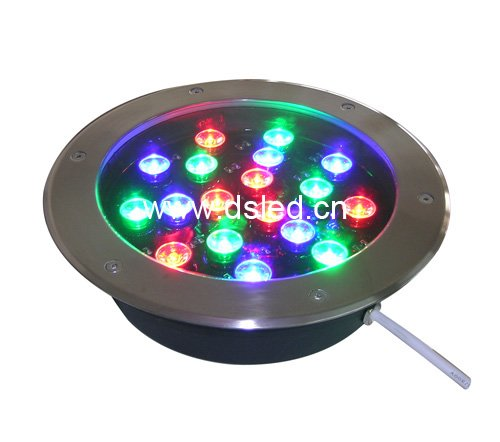 CE,IP67,good quality,dimmable,18W LED RGB underground light, LED RGB inground light,Diameter 250mm,24V DC, shenzhen direct factory p4 81 led module rgb 250mm 250mm 1 13 scan outdoor smd 3in1 led panel