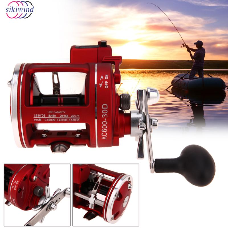 11+1BB Ball Bearings 3.8:1 Gear Ratio Fishing Line Counter Trolling Reels Right Handle ACL Bait Wheel Fishing Reels Tackle New