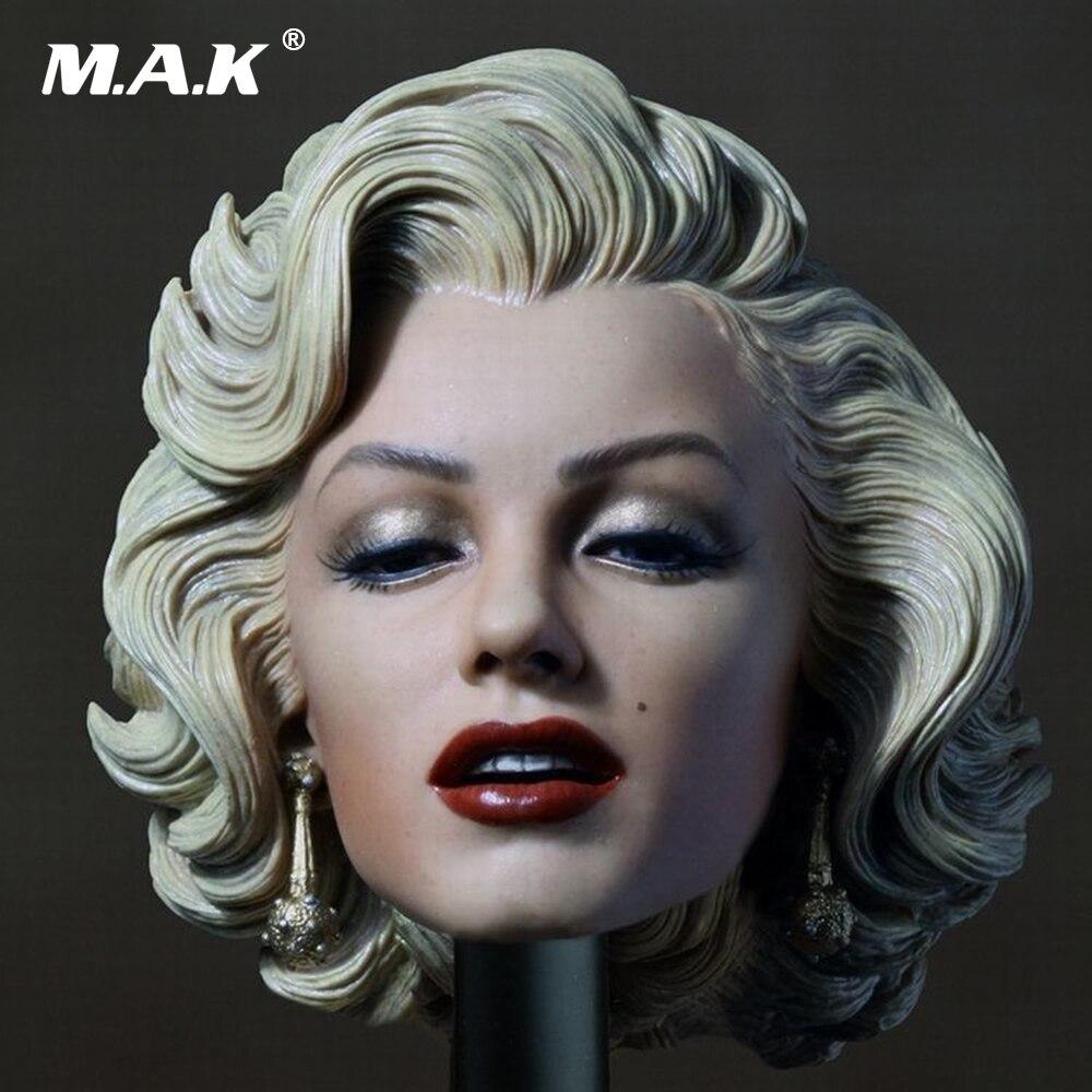 1:6 Scale Female Head Marilyn Monroe Head Sculpt Gentlemen Prefer Female Beauty Headplay for jiaodoll HT Body Figures ремни lee ремень gentlemen