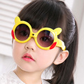 Новые Моды Baby Дети Мальчики Девочки Мультфильм Прекрасные Солнечные Очки UV400-Proof Light Уютный Тенденция Рамка Марка Дизайнер Очки Очки