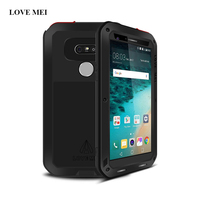 LOVE MEI Brand For LG G5 Metal Case Life Waterproof Shockproof Powerful Aluminum Case Cover For