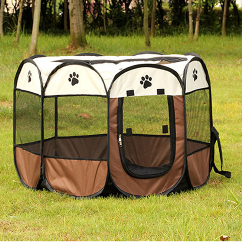 Portable Folding Dog House Pet tent Cage Dog Cat Tent