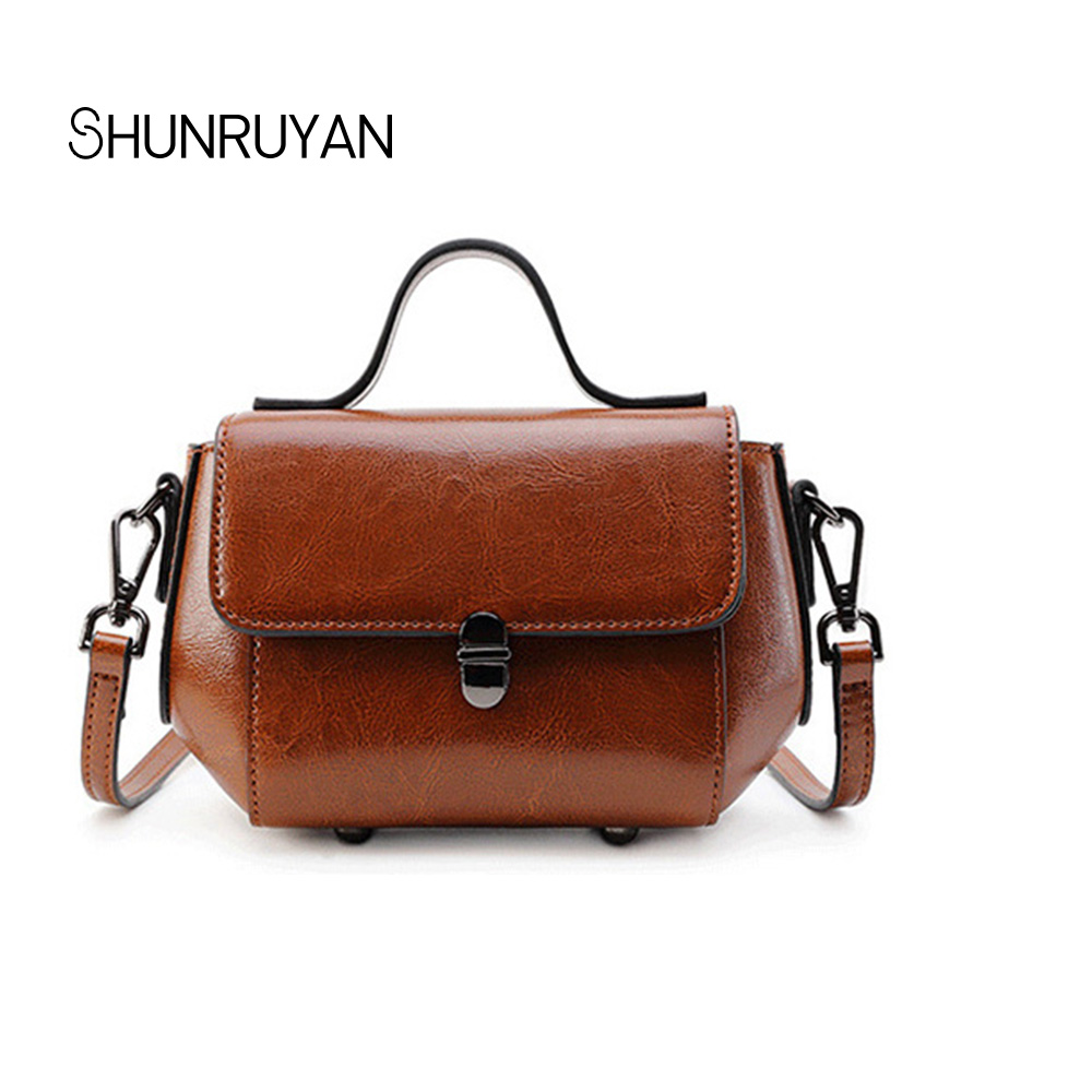 SHUNRUYAN 2018 New Genuine Leather Brand Design Women for Bag Zipper and Hasp Cross body Bag Shoulder Bag Dress Bag shunruyan 2018 brand design genuine leather women bag crossbody bag shoulder bag chain fashion party bag