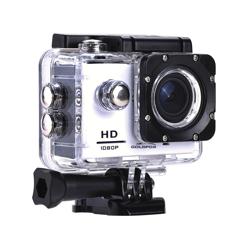 Image 3 - 1080P Mini Sport Action Camera for Climbing Riding 2 inch LCD Screen 120D Go Waterproof pro DV DVR Video Recording Helmet Camera-in Sports & Action Video Camera from Consumer Electronics