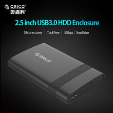 ORICO 2 5 Inch USB3 0 Tool Free HDD Enclosure ard Disk Box Compatible for Window