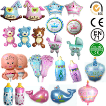 2pcs Cartoon Mini Balloon Baby Shower Ballon Animal Foil Air Balloons Party Decoration  classic toys D40