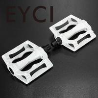 2x MTB BMX Road Mountain Bike Bicycle Aluminum Alloy Flat Platform Wide Foot Bearing Pedals Non