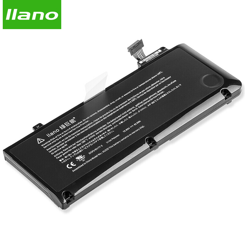 llano A1322 Laptop Battery for APPLE Macbook Pro A1322 A1278 MC700 MB990 MB991 MC374 MacBook Pro 13.3in 5700mAh цена