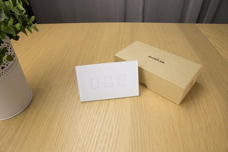 2018 Broadlink TC2 US/AU version 1 2 3 Gang WiFi Accueil automatisation Intelligente Télécommande Led Lumière Switche Tactile Panneau via RM Pro + 21