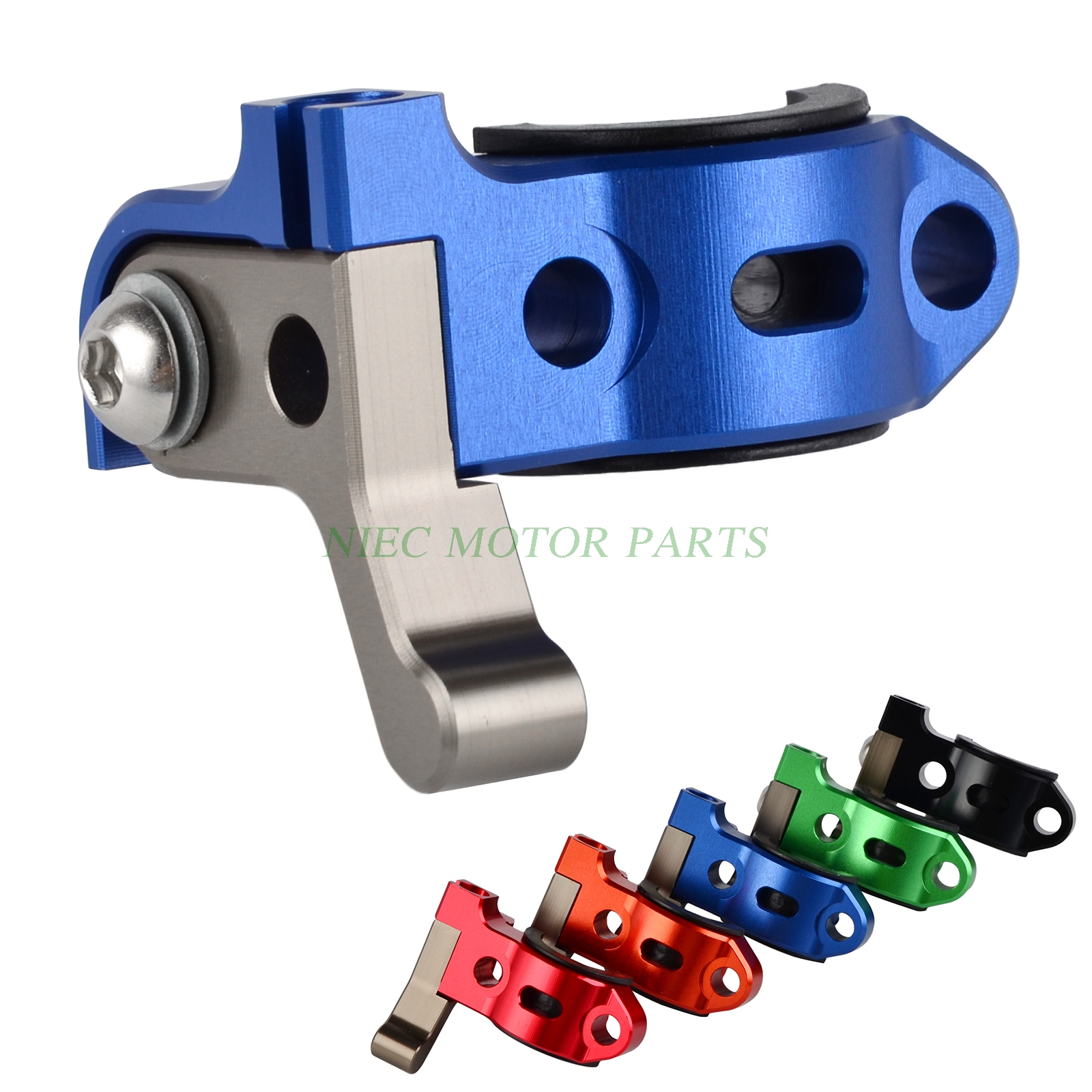 H2CNC Rotating Bar Clamp Hot Start Lever For Yamaha WR250 F WR250R WR250F WR426F WR450F TTR250 YZ125 250 250F 426F YZ450F  YZ85