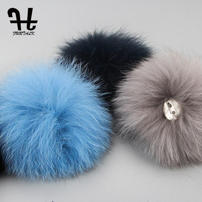 e4e1c953 FURTALK Luxury Knitted Mink Fur Hat Women 2019 Fedora Bucket Hat Winter  Real Fur Hats for Women Female russian fur cap-in Berets from Apparel  Accessories on ...
