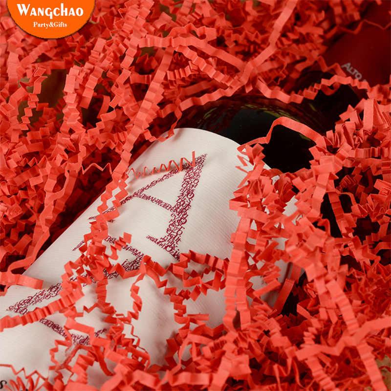 20g נייר מילוי טהור צבע לאפיט תיבת מילוי אדום יין מתנת אריזה אספקת חתונה יום הולדת רווקות מסיבת קישוטים