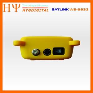 Image 3 - 10pcs/lot Original Satlink WS 6933 Satellite Finder DVB S2 FTA C KU Band Satlink Digital Satellite Meter WS6933 hot sell
