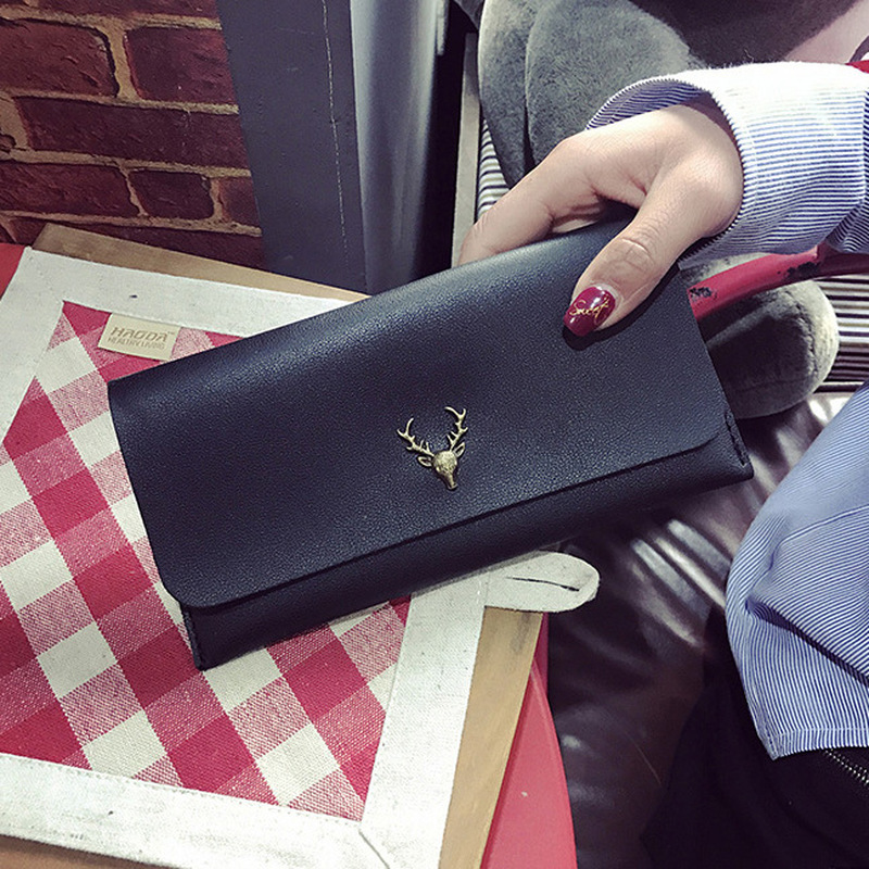 New Fashion Lady Purse Ladies Long Card Holder Simple Wallet rfid Wallet