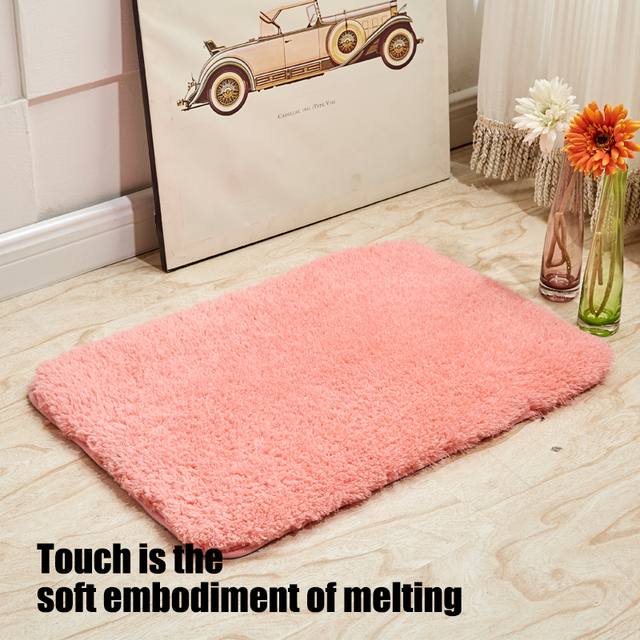 Carpets For Living Room Shaggy Wool Rug Anti skid Absorbent Carpet ...