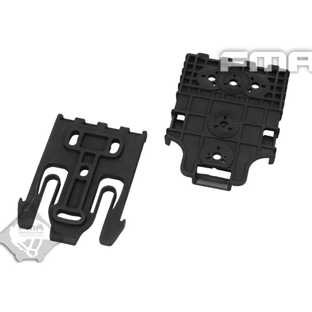 5set/lot Nylon Quick Release Buckle FMA Tactical Safariland Quick Locking System Kit BK TB1042 BK Free Shipping-in Helmets from Sports & Entertainment    2