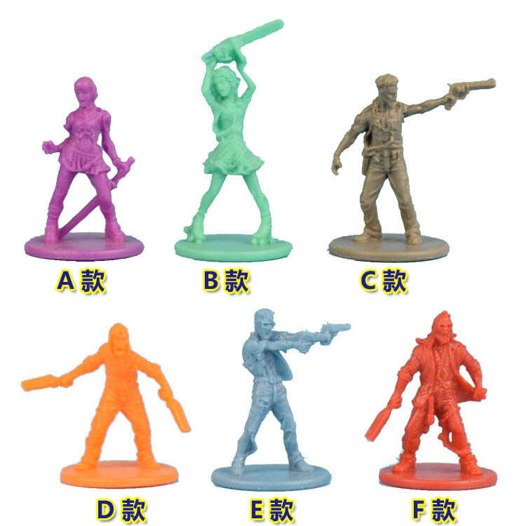 1/72 Scale Model Resin Figure Zombicide Hero Modeling Survivor Plastic Static DIY Toys Hobby Tools Creative Gift