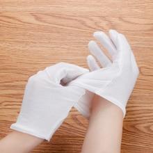 1 pair  White Moisturising Socks Gloves Moisture Cream Care Hand Feet Smooth Soft Beauty Hand Care Eco-friend SPA Gloves