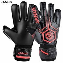 JANUS профессиональные футбольные вратарские перчатки для взрослых детей мужские футбольные перчатки защита пальцев S434