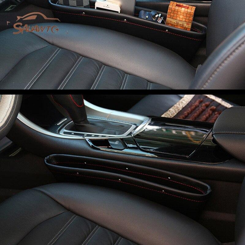 Car Seat Gap Filler Pocket Storage Organizer For Lada Granta Vaz Kalina 4x4 2114 Priora Niva Samara 2 2110 Largus 2109 2107 2106