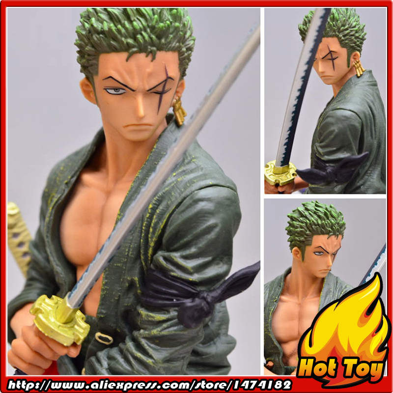100% Original Banpresto Creator x Creator Collection Figure - Roronoa.Zoro Normal Color Ver. from One Piece japan anime one piece original banpresto creator x creator pvc collection figure dracule mihawk