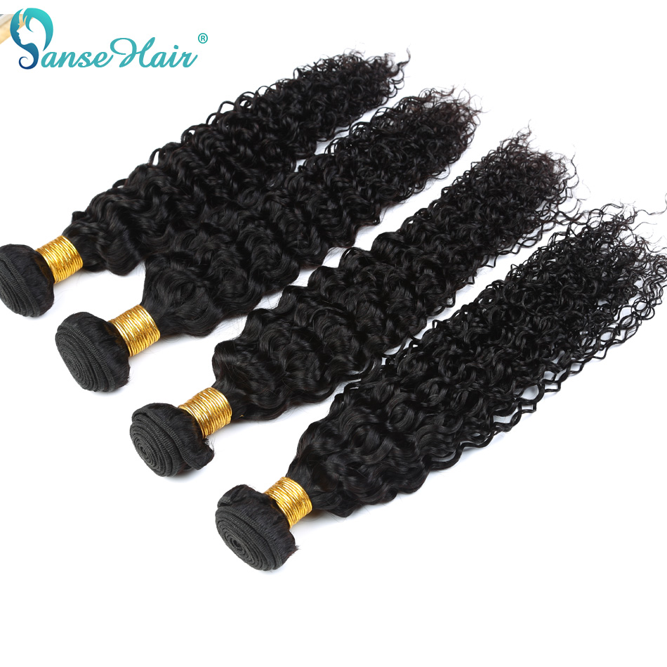 Kinky Curly Panse Hair Malaysian Hair 4 Bundles Per Lot Non Remy Human Hair Weaving Customized 8 To 30 Inches Hair Bundle