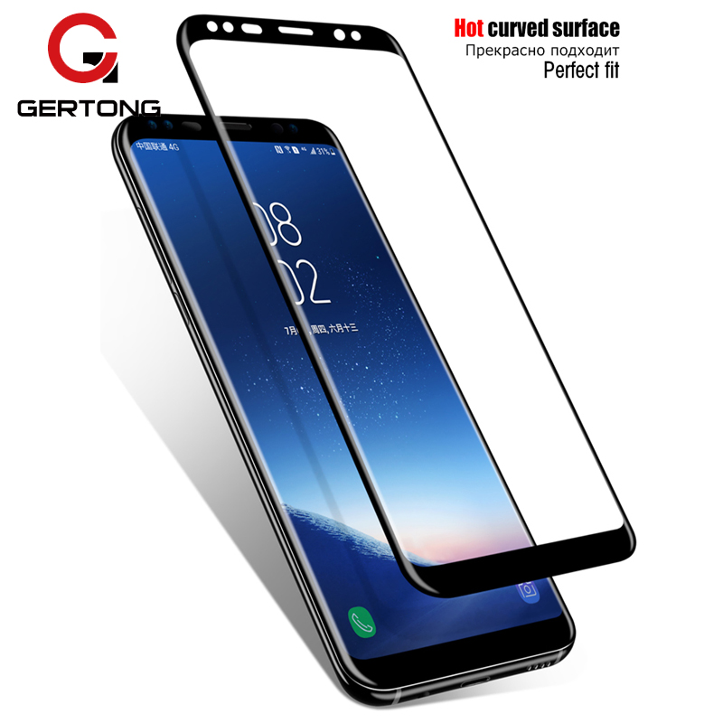 3D Screen Protector Film For Samsung Galaxy S9 S8 Plus S10 Tempered Glass Protection Full Cover For Samsung S10 Plus S9 Note 8 9